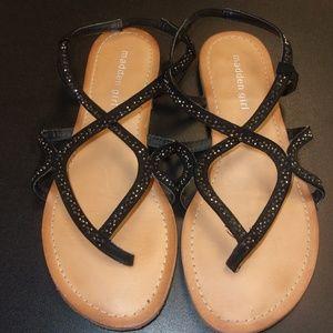 Madden Girl Strap Sandals Size 8